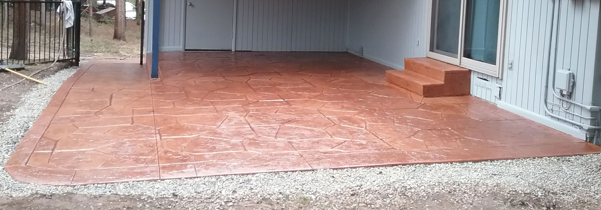 Colored & Stamped Concrete